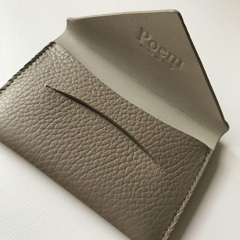 画像3: カードケース・cretaグレージュ